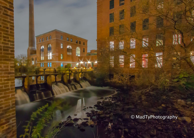 Baker's Chocolate Factory by local photographer, Brian Maclean