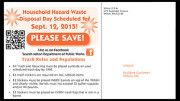 Milton DPW Yard Waste Collection Schedule