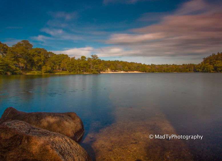 Houghton's Pond by local photographer, Brian Maclean