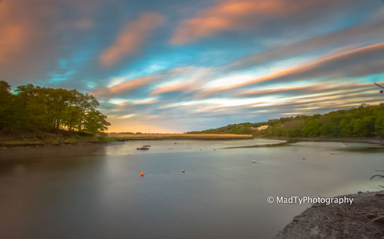 Milton marshes and sky, photo by local photographer, Brian Maclean