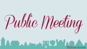 Public Meeting in Milton
