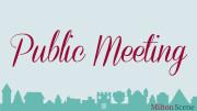Public Meeting in Milton