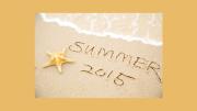 Summer 2015 beach waves