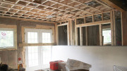 Home renovation in progress