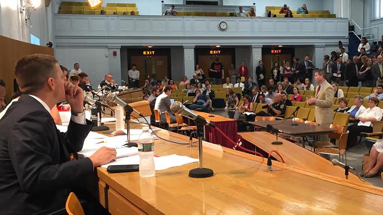 Representative Walter F. Timilty testified on behalf of his bill, House Bill H3453