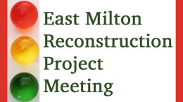 East Milton Reconstruction Project