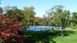 Tennis Courts at Fuller Village