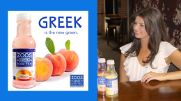Creator of ZOOS Greek Iced Tea Kristina Tsipouras