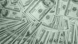 Many hundred dollar bills