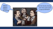 Colonial Drinking Party presented by Milton Historical Society