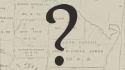Registry of deeds map with question mark