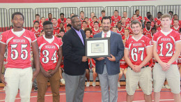 Congratulations to Milton High School's Steve Dembowski, this week's New England Patriots High School Coach of the Week!