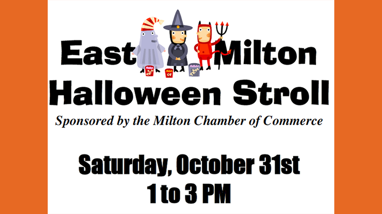 Get ready for treats! Holiday Stroll is Oct. 31