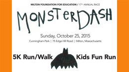 Monster Dash to take place Oct. 25, 2015