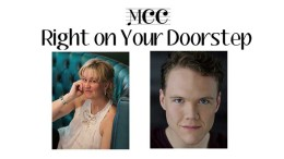 Right on your doorstep concert flyer