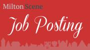 Milton Scene Job Posting
