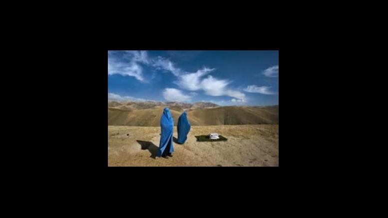 Lynsey Addario's Veiled Rebellions exhibit