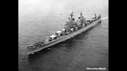 USS Quincy. Photo courtesy Wikipedia