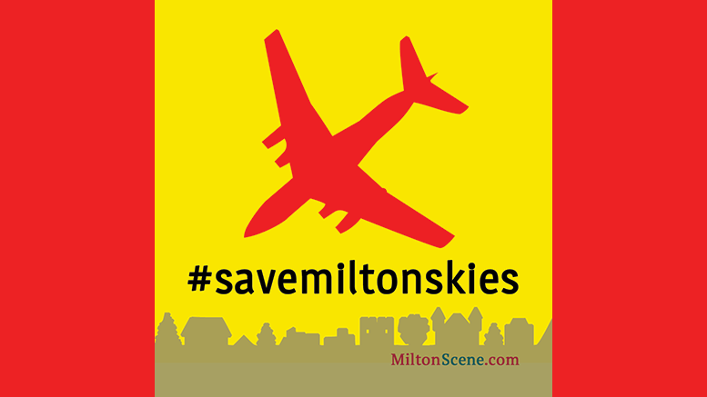 Save Milton Skies from Air Traffic and Planes
