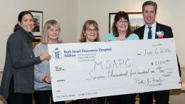 Beth Israel Deaconess Hospital-Milton gives MSAPC grant