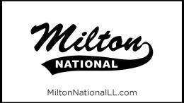 Milton National Little League seeking Milton Neighbors support
