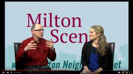 Milton Scene Milton Neighbors interview - talk of the town, Melissa Fassel Dunn and Brian Kelly
