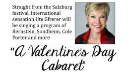 Valentine's Day Cabaret: Ute Gfrerer with pianist William Merrill