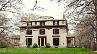 Forbes House Museum in Milton MA