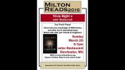 Milton Reads Annual Trivia Nigh