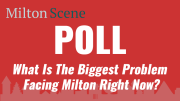 Poll: What is the biggest problem facing Milton right now?