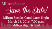Milton Speaks Candidates Night