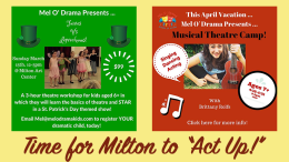 Mel O' Drama acting classes, songwriting, dancing, birthday parties - in Milton, MA