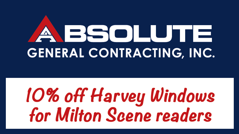 Absolute General Contracting offers 10% off Harvey windows