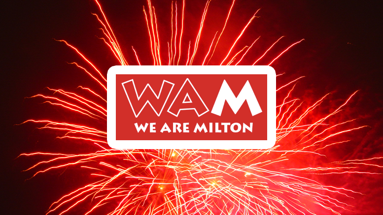 We Are Milton music fest and fireworks