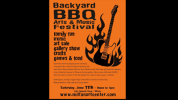 Backyard BBQ Music and Arts Festival to take place at the Milton Art Center on June 11