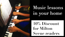 Milton's Key Notes School of Music offers in-home lessons