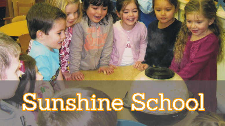 Sunshine School preschool in Milton, MA