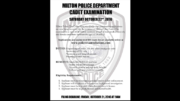 Milton Police Cadet applications now being accepted; deadline Oct. 21