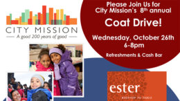 City Mission's 8th annual coat drive to take place Oct. 26