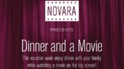 Novara presents: Dinner and a Movie