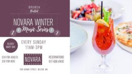 Novara restaurant offers weekly Sunday brunch buffet