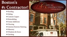 Boston's #1 Contractor: Capital Construction Roofing, siding, and more!