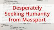 Desperately seeking Humanity from Massport