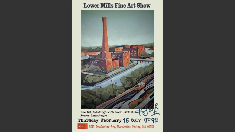 Roscoe Lamontagne art show at Ester, Feb. 16, 2017
