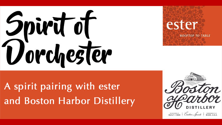 ester invites you to a spirit-dinner pairing on March 23
