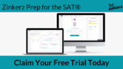Zinkerz is offering free lessons for the SAT!