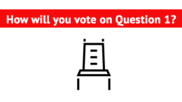 How will you vote on question 1?
