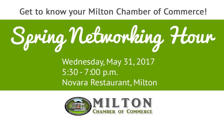 Milton Chamber of Commerce Networking Hour