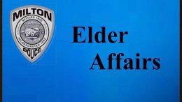 Elder Affairs at Milton Police Department