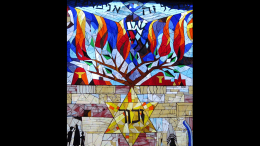 Beth Shalom Holocaust Window